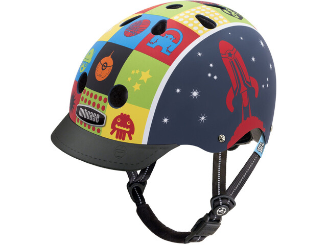 Nutcase Little Nutty Street Fietshelm Kinderen, space cadet matte